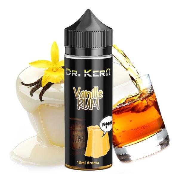 Dr. Kero VANILLE RUM Aroma 18ml - E-Liquid made in Germany