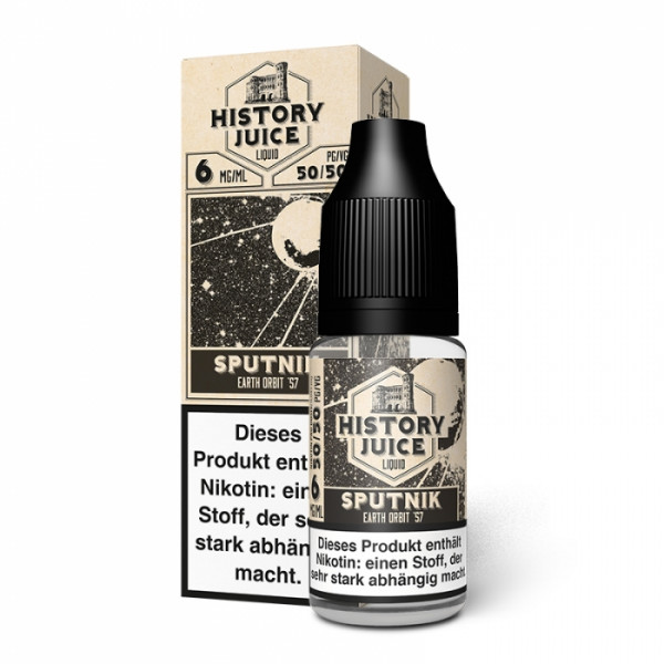 Sputnik (rote Früchte, Menthol) - HISTORY JUICE